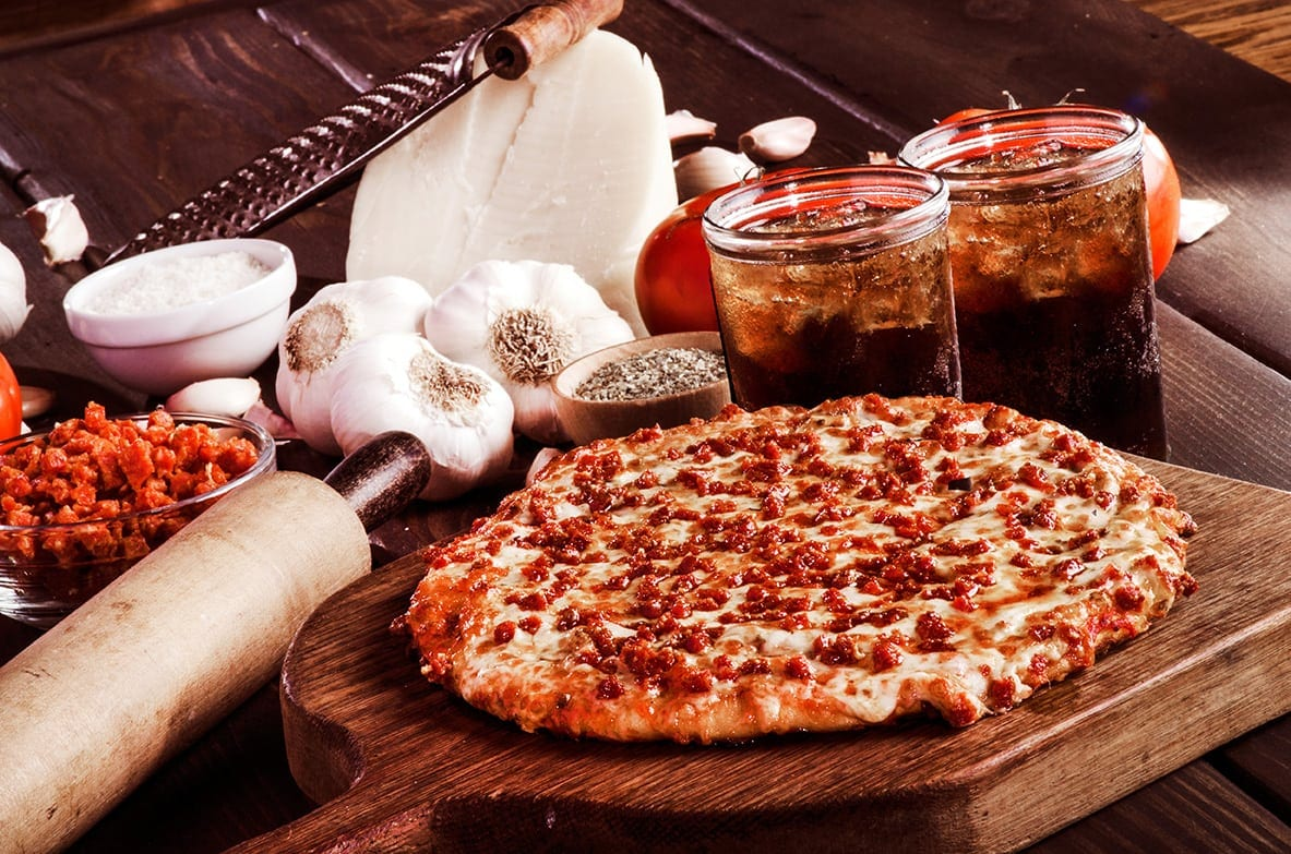 Sir Pizza Lunch Special Pizza