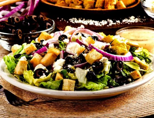 Greek Salad – $6.99/$8.59