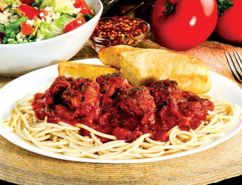 Spaghetti w/Meatballs – $4.99