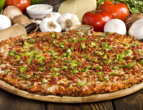 Large Three-Item Pizza: $17.99