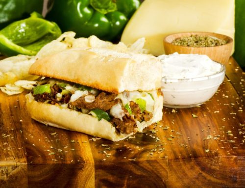 Philly Cheese Steak Sub – $7.99 (Offered Only at the Old Town Location)