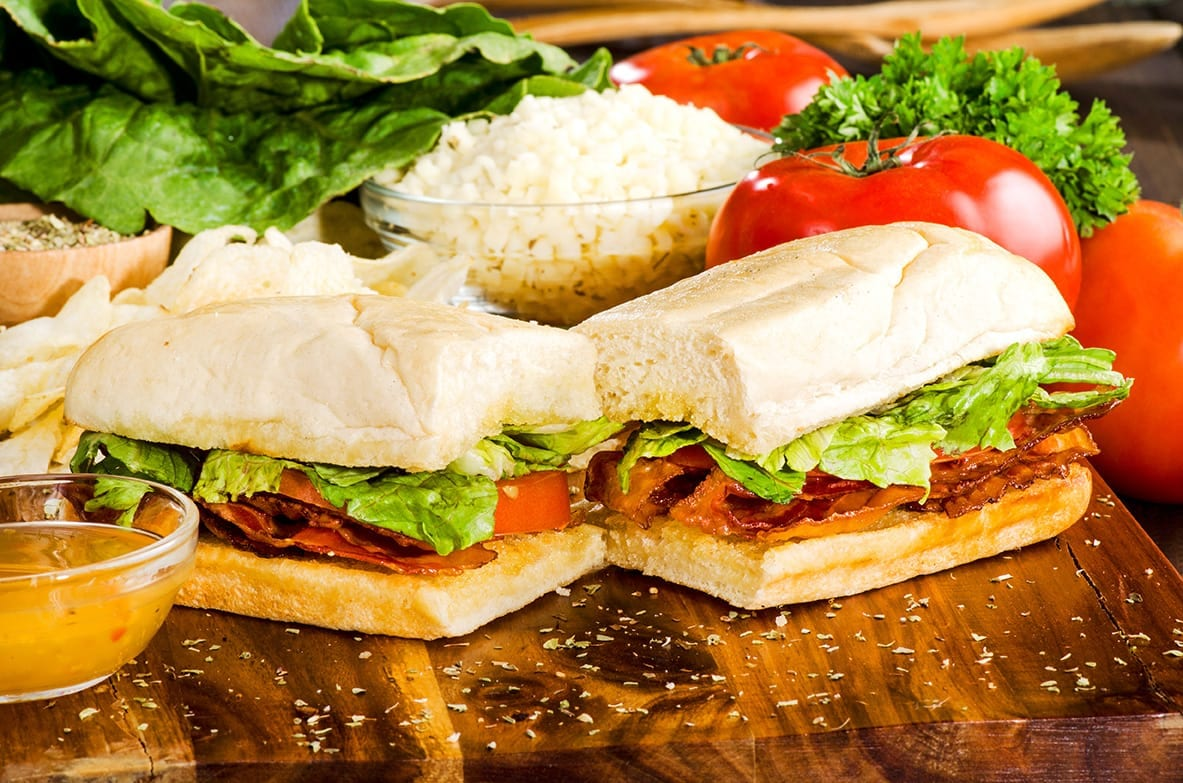 sir pizza blt sub