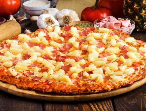 Ham Hawaiian Pizza