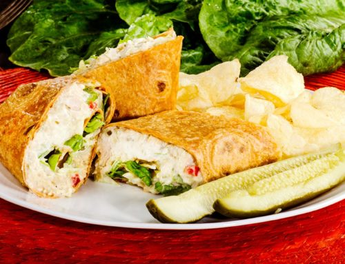 Tuna Wrap – $6.99 (Offered Only at the Old Town Location)