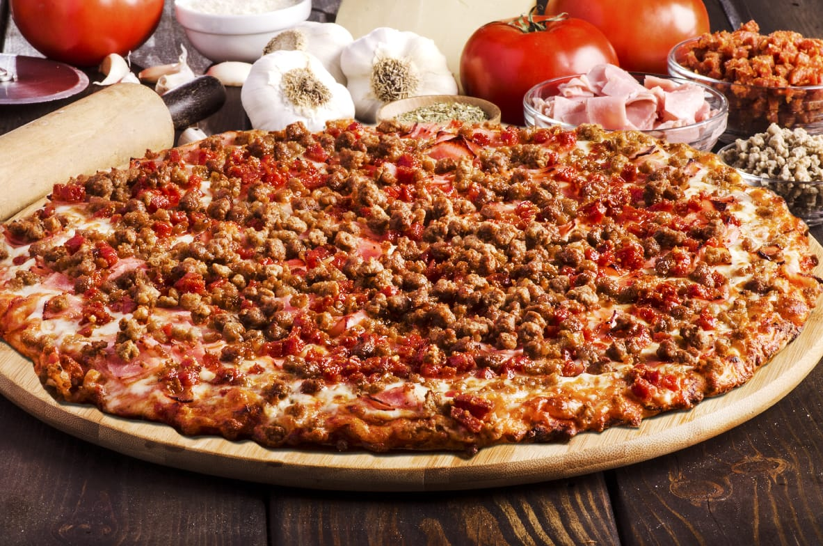 Sir Pizza All Meat Pizza
