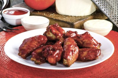 Sir Pizza BBQ Wings