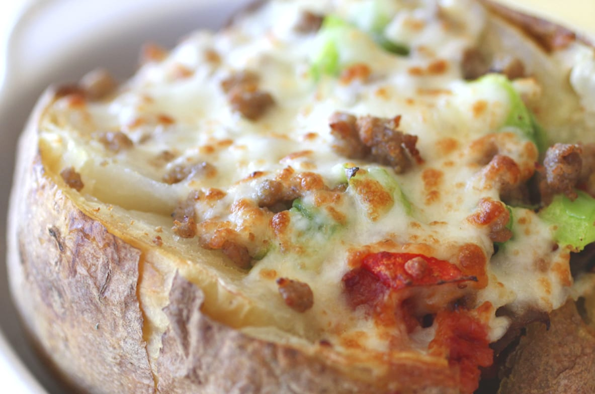 sirpizza royal feast baked potato