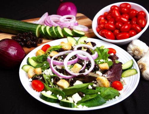 Greek Salad – $7.49