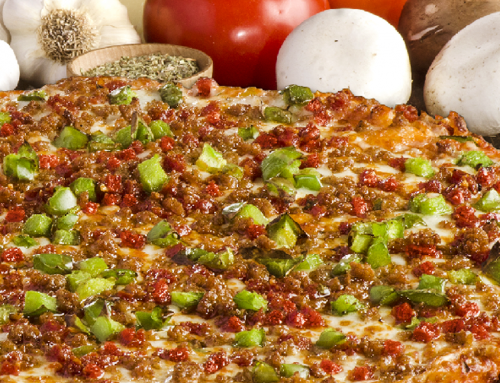 Extra-Large Pizza Special: $2-Off