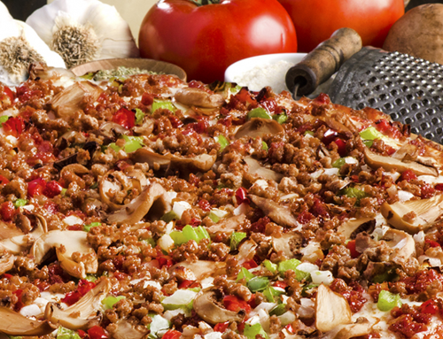 Large Royal Feast Pizza:  $16.99 • Online Orders Only!